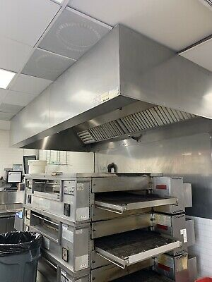 Middleby Marshall Ps570 Dbl.stack Nat.gas Pizza Conveyor Oven ......video Demo