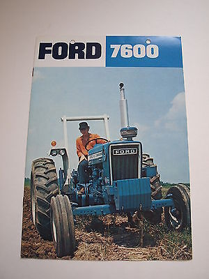 """A3 /""""10/"""" Ford Tractors Equipment Advertising Pencils /""""Husker Harvest Days/"""" 1982"""