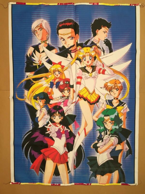Sailor Moon Anime Wall Hanging Tapestry 30.5 x 42.5
