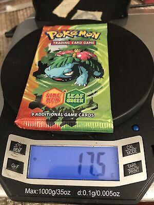 Pokemon EX Fire Red Leaf Green Venusaur Art Booster Pack SEALED HEAVY 17 G!