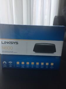 Brand new Linksys N600 router