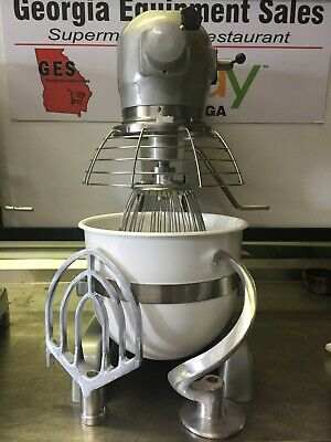 Hobart Bakery Mixer A 200 - Complete W New Bowl Attachments