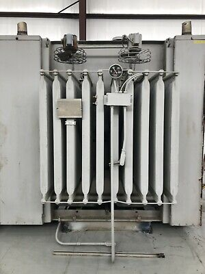 Ge Substation Transformer 2500 Kva Primary 12470 Delta - Secondary 4160y2400