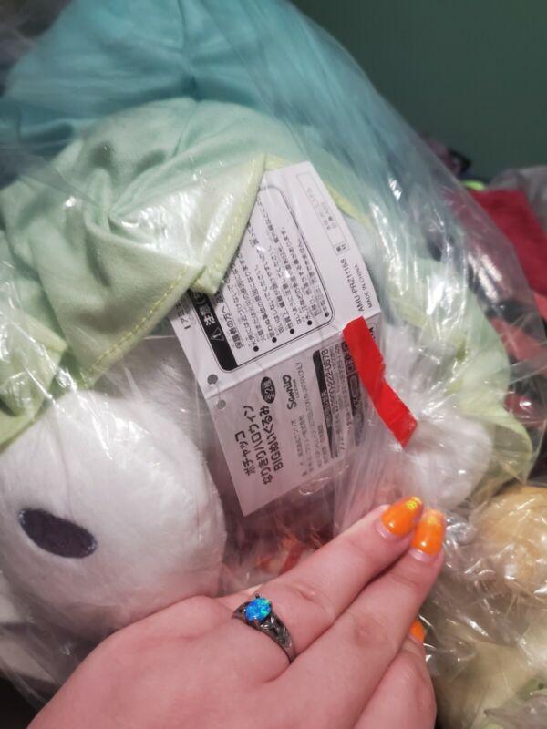 Sanrio Pochacco Narynari Halloween Big Plush Doll Ghost 30cm