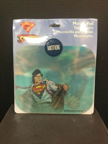 SUPERMAN Motion MOUSE PAD SEALED Brand New
