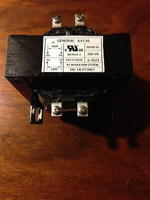 Generac Transformer Pn 64126 200va 240 480 Vac For Automatic Transfer Switch
