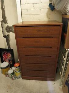 Wooden tallboy / chest of drawers Coogee Eastern Suburbs Preview