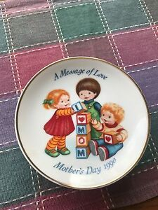 Mother's Day collector plates