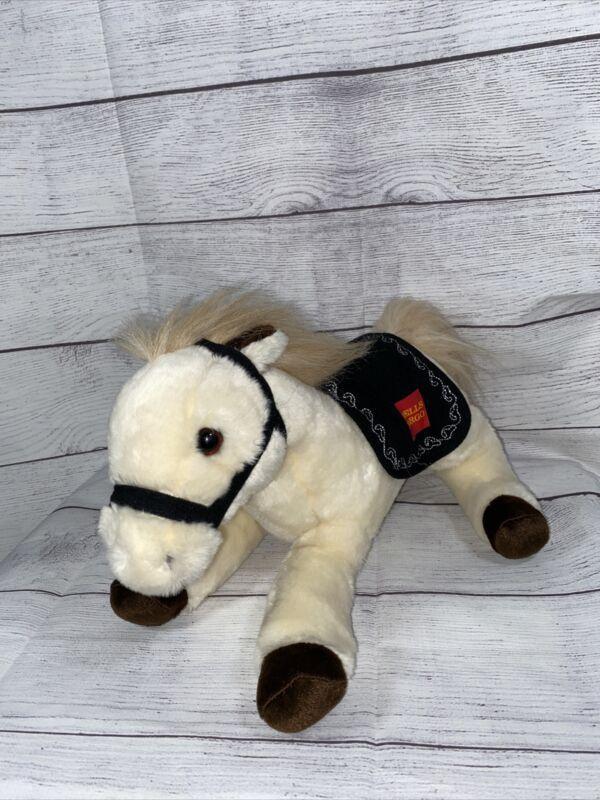 "2014 13"" Legendary Wells Fargo Bank El Toro Pony Plush Horse Stuffed Animal"