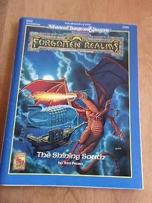Advanced Dungeons & Dragons Forgotten Realms The Shining South  FR16 9388 AD&D