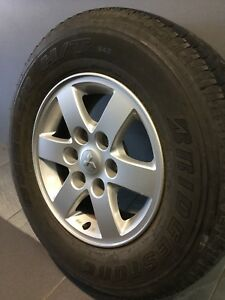 "MITSUBISHI PAJERO/ TRITON 16"" GENUINE ALLOY WHEELS AND TYRES Carramar Fairfield Area Preview"
