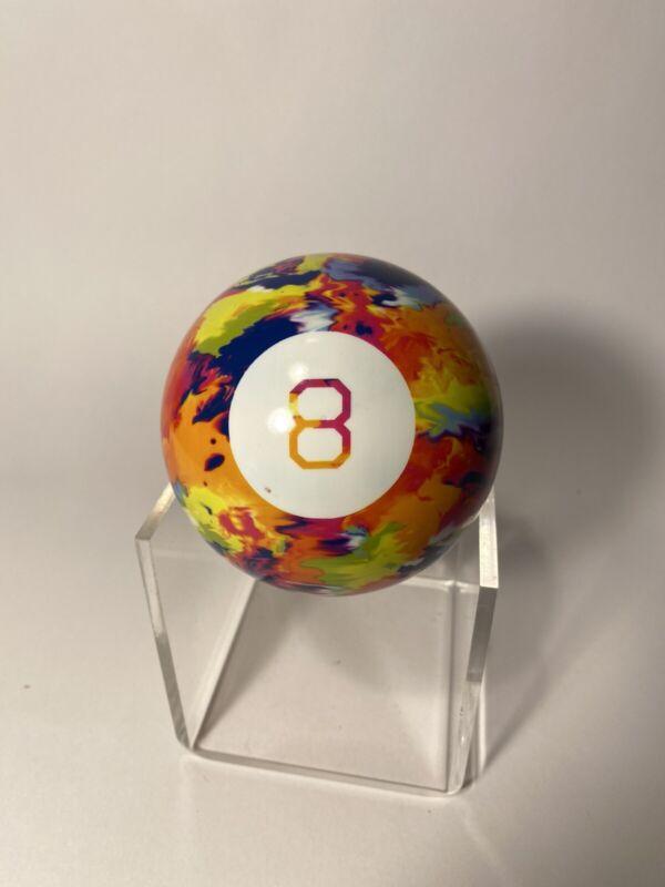 "Magic 8 Ball 4"" Mattel Multi-Colored Rainbow ,Tye-Dye"