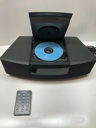 Bose Wave Radio CD Player Alarm Clock AWRC-1G w Remote Excellent Condition!