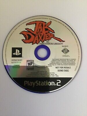 Jak and Daxter: The Precursor Legacy Demo Disc Only Very Rare PLAYSTATION 2 PS2