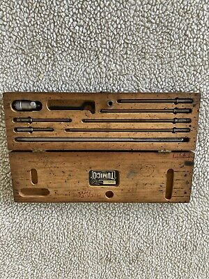 Vintage Tumico Inside Micrometer Machinist Tools Original Box