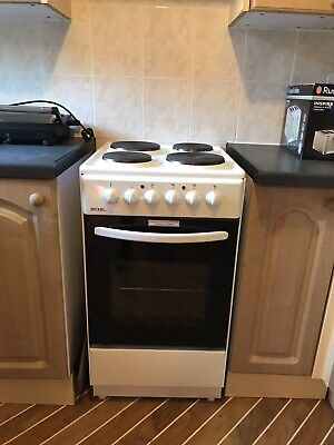 Bexel White Electric Cooker Oven Grill Excellent Condition