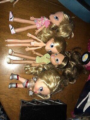 BRATZ KIDZ Kids Lot of 5 Dolls With A bratz Babyz