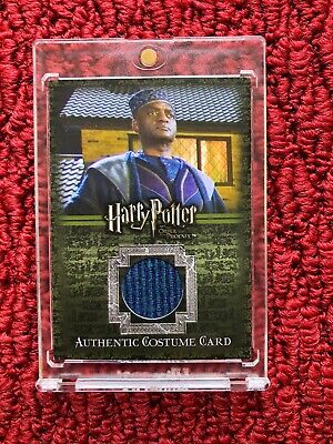 Authentic Harry Potter Costumes (Harry Potter OOP Kingsley Shacklebolt Authentic Costume Card C11)