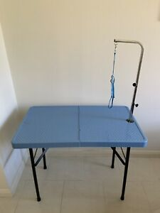 Portable Dog Grooming Table - Near new