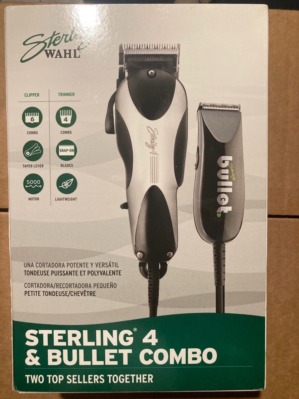 Wahl Professional Sterling 4 Clipper with Sterling Bullet