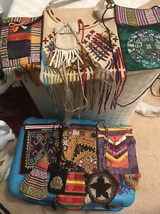 Indonesia and native purse collection