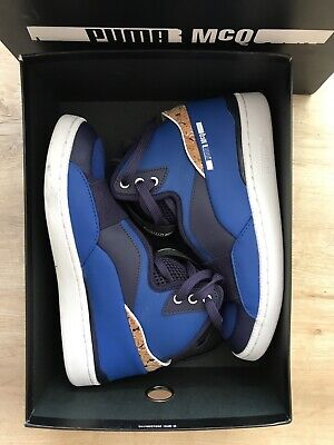 Alexander McQueen for Puma blue unisex trainers, Ltd Edition