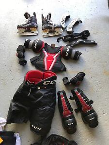 Équipement de hockey jr