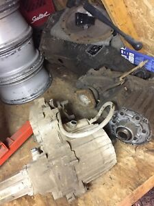 Nv3500 5speed NP208 transfer case