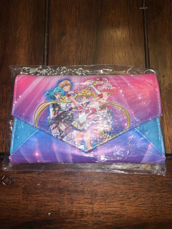Sailor Moon S Group Envelope Wallet