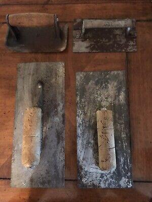 Vintage Lot Of 7 Masonry Concrete Tools