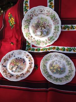 Royal Doulton Brambly Hedge plates Newstead Launceston Area Preview