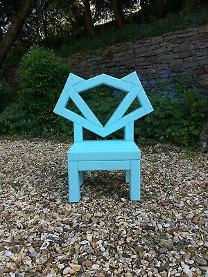 Kids Garden Chair - Fox - Light Blue