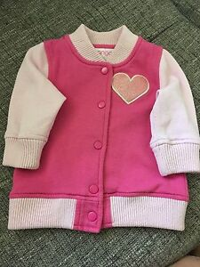 Mango Baby Girls Size 0 Bomber Jacket - Good Condition Ashmore Gold Coast City Preview