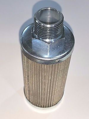"LENZ FILTER SCREEN 3/4"" NPT 32061 TANK PICK UP LINE CLEAN BURN CLEANABLE & OTHER"