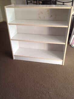 White bookcase FREE  Caringbah Sutherland Area Preview