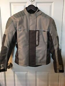 Woman's motorcycle jacket (size S)