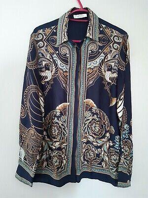 Versace Collection Women CAMICIA DONNA TESSUTO Long Sleeve Silk Blouse