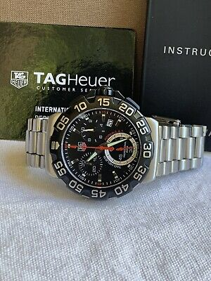 Tag Heuer Formula 1 Chronograph men's watch CAH1110