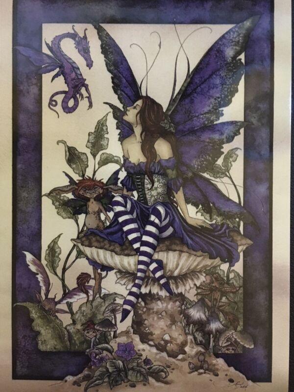Amy Brown Fairy Postcard 2004 4x6 ~New~