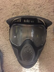 Paintball safety combat style mask