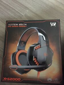 KOTION EACH G2000 Pro Gaming Headset For ps4 and pc