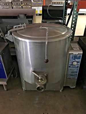 Vulcan Steam Jacketed Stationary Kettle - Gas