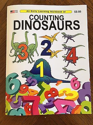 Children's Counting Books (Counting Dinosaurs - An Educational Read & Color Book / Great For)