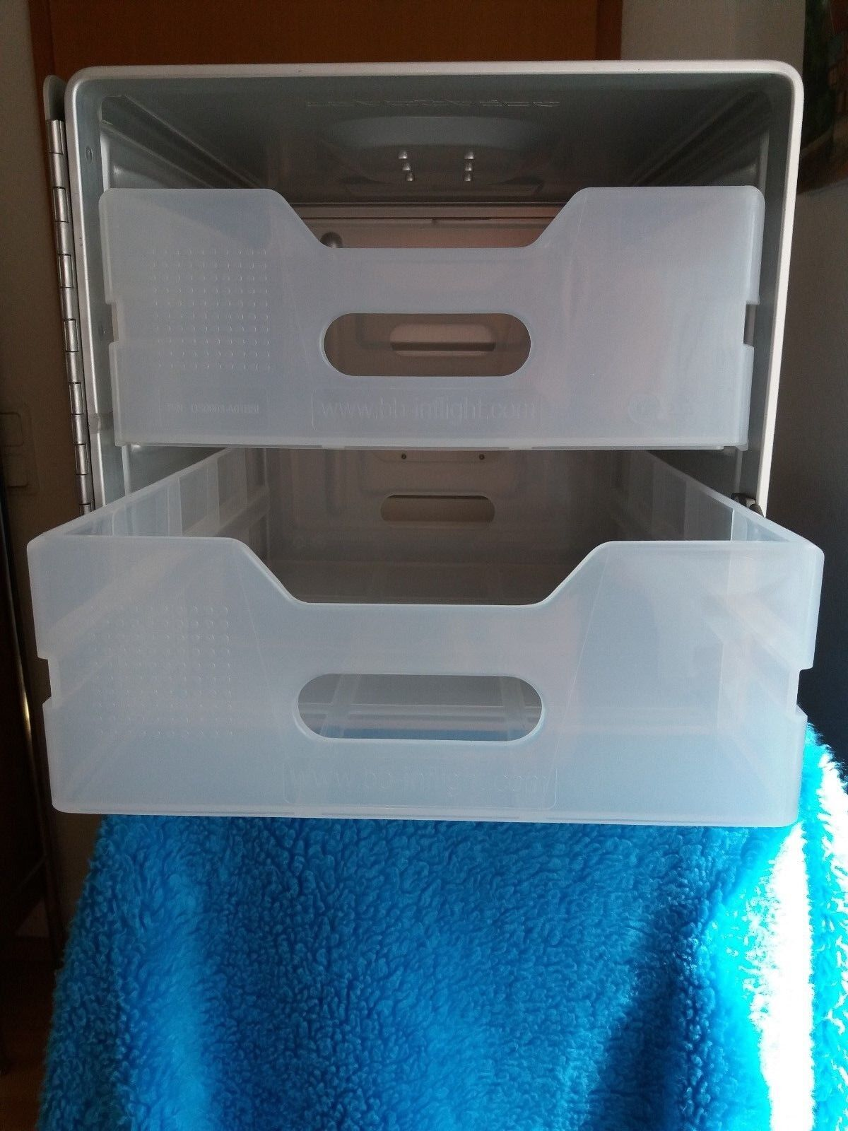 Standard Container Unit Flugzeugtrolley Catering Box inkl. 2 Schubladen