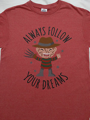 Freddy Krueger A Nightmare On Elm Street Always Follow Your Dreams T-Shirt