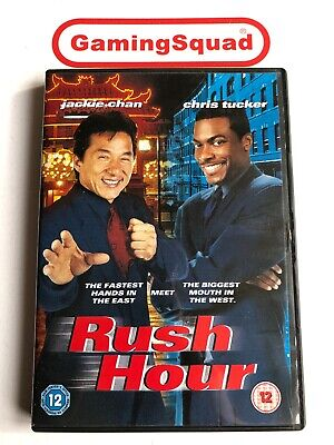 Rush Hour (Alt) DVD, Supplied by Gaming Squad