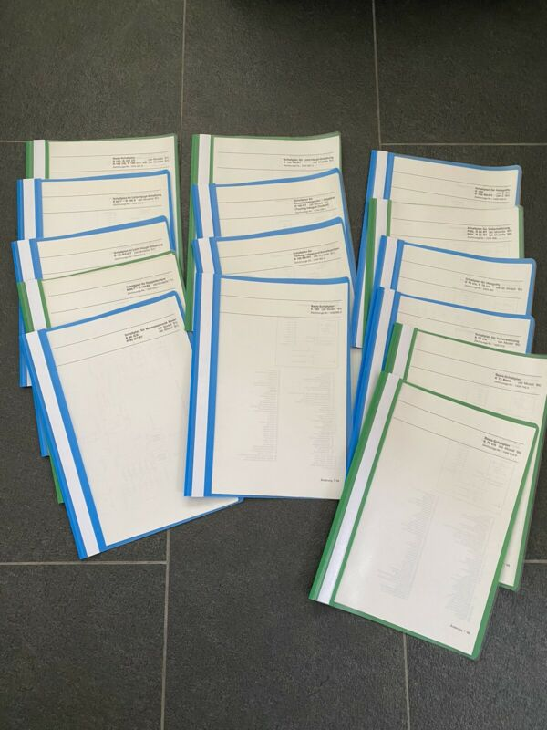 BMW K75,K100,R60,R100,genuine BMW Dealers Electrical (fold-out) Wiring Diagrams.