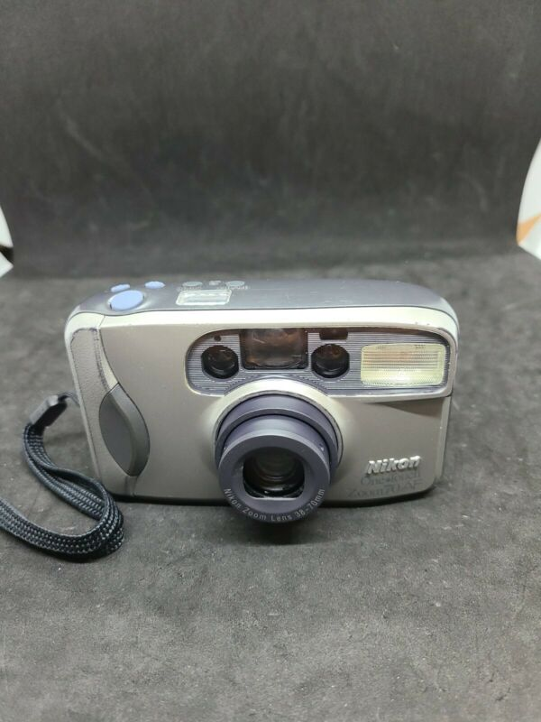 Nikon One Touch Zoom 210 AF 35mm Film Lens Zoom 38-70mm camera