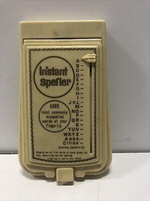 Vintage Instant Speller for 6,000 Most Commonly Misspelled Words - 1967~