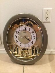Rhythm Clock, Small World, Magical Motion Joyful  Wall Crystal 30 songs Rare